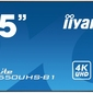 Iiyama monitor 55 lh5550uhs-b1 247,4k,lan,amva3,daisy
