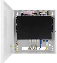 Switch poe w obudowie pulsar sf108-c 10-portów 8xpoe + 2xuplink2xsfp - szybka dostawa lub możliwość odbioru w 39 miastach