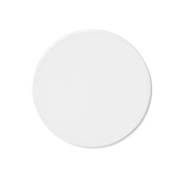 Talerz płaski pokrywka New Norm 13,5 cm biały