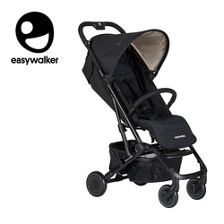 Easywalker buggy xs wózek spacerowy z osłonką przeciwdeszczową night black kolekcja 2019