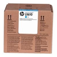Hp lx610 wkład atramentowy latex błękitny, 3 litry