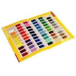 Wzornik kolorów naklejek mat