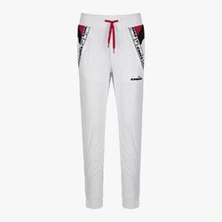 Spodnie dresowe damskie diadora l. pants - biały