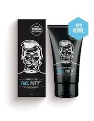 Barber pro face putty black peel-off mask - peelingująca maska z węglem aktywowanym 40 ml