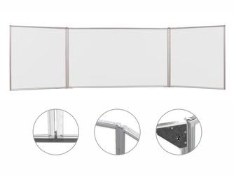Tryptyk magnetyczny suchościeralny biały 170x100cm