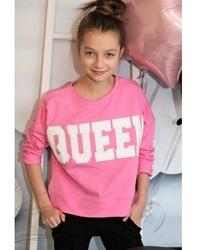 Różowa bluza queen