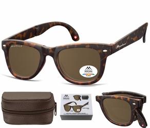 Składane okulary polaryzacyjne nerdy montana fs40a