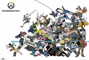 Overwatch Battle - plakat z gry