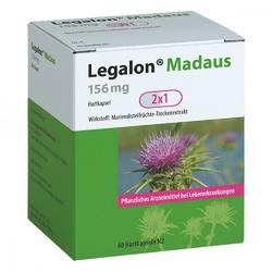 Legalon madaus 156 mg hartkapseln