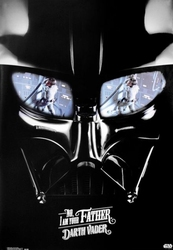 Star Wars - Darth Vader - No, I Am Your Father - plakat
