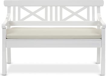 Poduszka na ławkę Drachmann 120 cm piaskowa