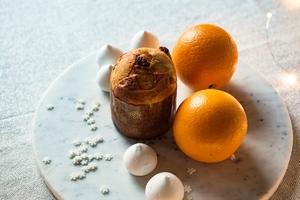 Fototapeta na ścianę muffin i pomarańcze fp 4378