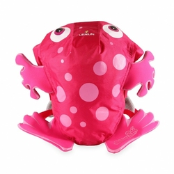 Plecak little life 3+ swimpack na plażę i basen - różowa żaba
