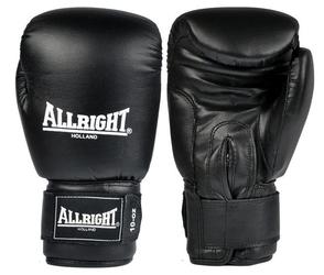 Rękawice bokserskie allright pvc czarne