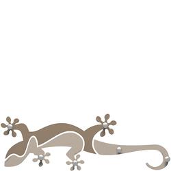 Wieszak ścienny Gecko CalleaDesign piaskowy 54-13-1-12