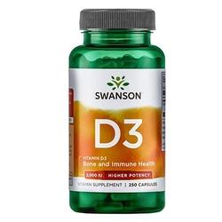 Swanson vitamin d-3 2000iu 250