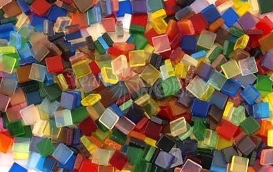 Mozaika transparentna 5x5 mm - 700 sztuk - TRA