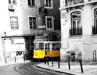 Fototapeta tram 28 lisboa