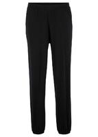 Spodnie shirtowe z wpuszczanymi kieszeniami loose fit bonprix czarny