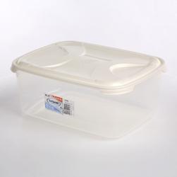 Pojemnik do przechowywania żywności prostokątny nuvola frigo 6,8 l biały
