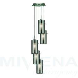 Duo 2 lampa wisząca 5 przydymiony