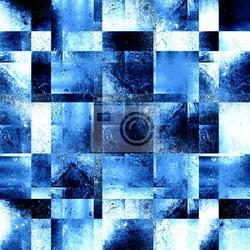 Naklejka fajne niebieskie tło w stylu grunge