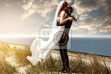 Fototapeta Beach wedding