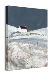 One winters night - obraz na płótnie