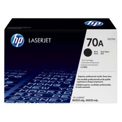 HP 70A oryginalny wkład z czarnym tonerem LaserJet