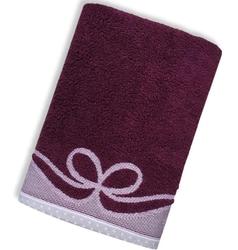 ARCO ŚLIWKOWY ręcznik bawełniany GRENO - śliwkowy