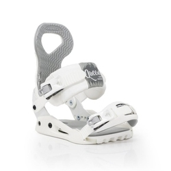 Wiązania snowboardowe drake queen white 2020