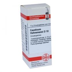 Causticum hahnemanni d 10 globuli