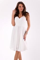 Evalola sukienka biały46039-2