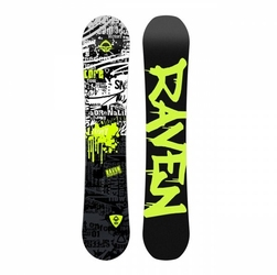 Deska snowboardowa raven core junior 2019
