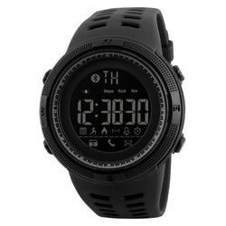 Zegarek skmei 1250 bluetooth smartwatch black - black