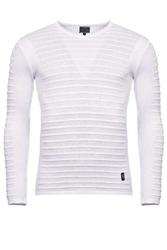 Sweter - biały 27005-4