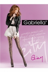 Gabriella 726 giny nero rajstopy