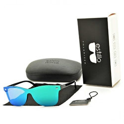 Okulary przeciwsłoneczne pełne polaryzacyjne lustrzane est-402b