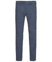 Męskie niebieskie spodnie typu chino  3432