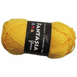 Włóczka akrylowa - żółty - ŻÓŁ