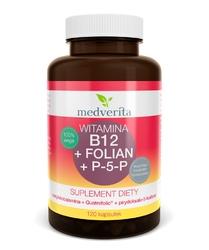 WITAMINA B12 metylokobalamina + Folian Quatrefolic® + P-5-P B6