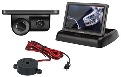 Kamera Cofania z Czujnikiem Parkowania VORDON CP-2IN1 + MONITOR