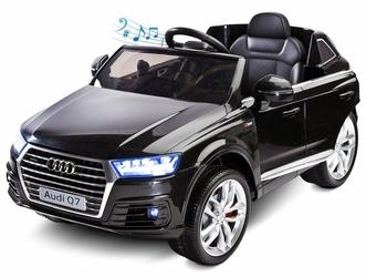Audi Q7 Czarny Samochód na akumulator TOYZ + PILOT DLA RODZICA