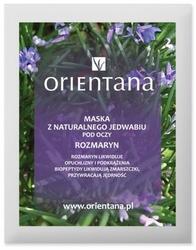 Orientana, Maska z Jedwabnej Tkaniny pod Oczy Rozmaryn, 1szt.