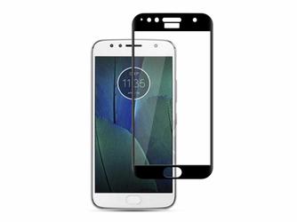 Szkło Mocolo na cały ekran Motorola Moto G5S Plus czarne