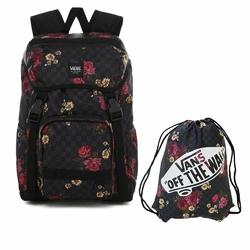 Plecak szkolny Vans Ranger Botanical Check - VN0A3NG2UWX + Worek