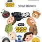 Star Wars Tsum Tsum - naklejka z bajki