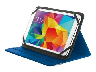 Trust primo folio case with stand for 7-8 tablets - blue