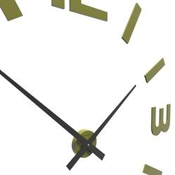 Zegar ścienny donatello calleadesign oliwkowo-zielony 10-315-54