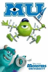 Monsters University Tape - plakat